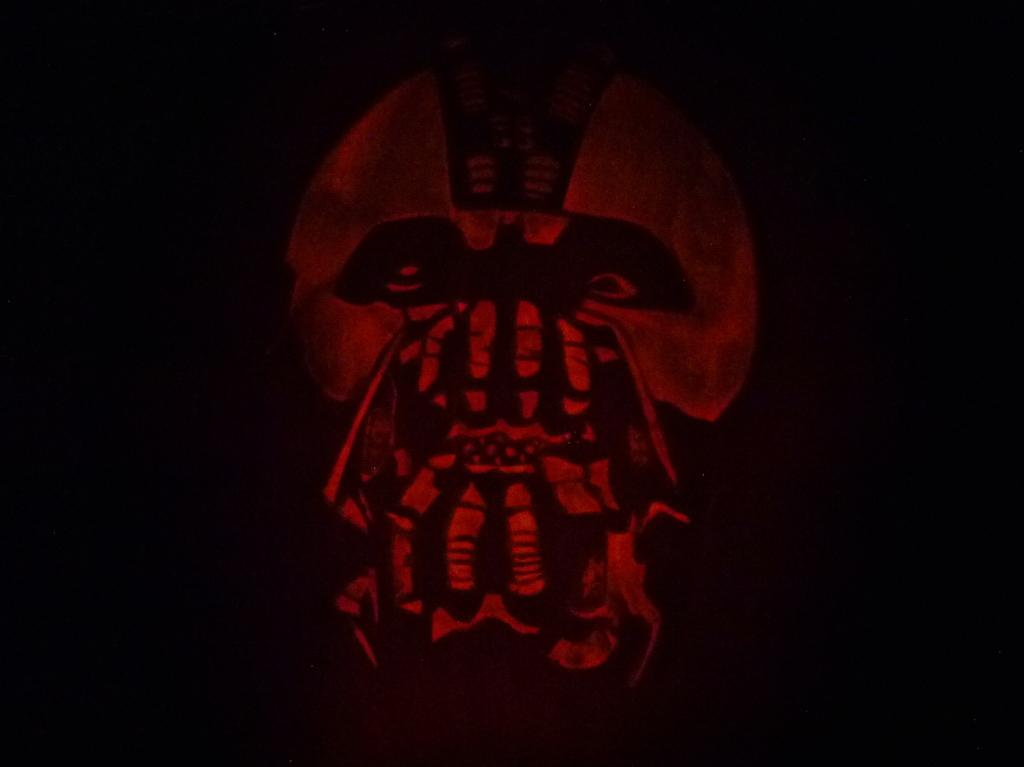 Bane Halloween Pumpkin